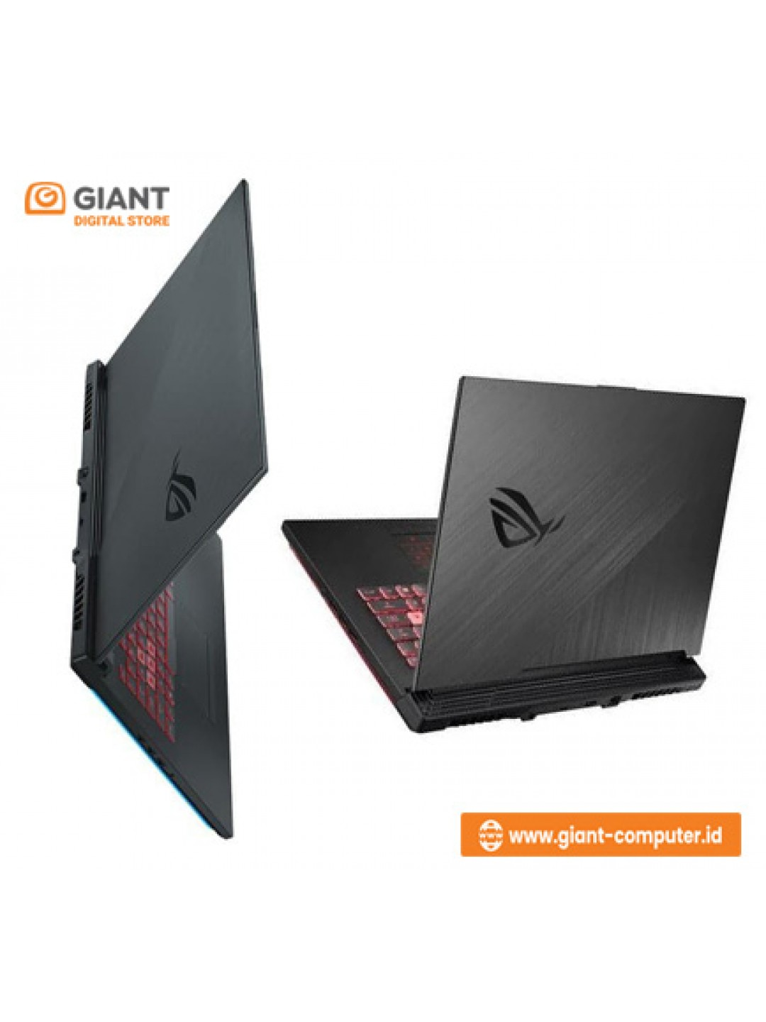 "LAPTOP ASUS ROG STRIX III G531GD-I505G4T (INTEL CORE I5-9300H / 8GB DDR4 / SSD 512GB / 15.6"" / NVIDIA GTX1050 4GB / WIN 10 HOME) METAL BLACK"