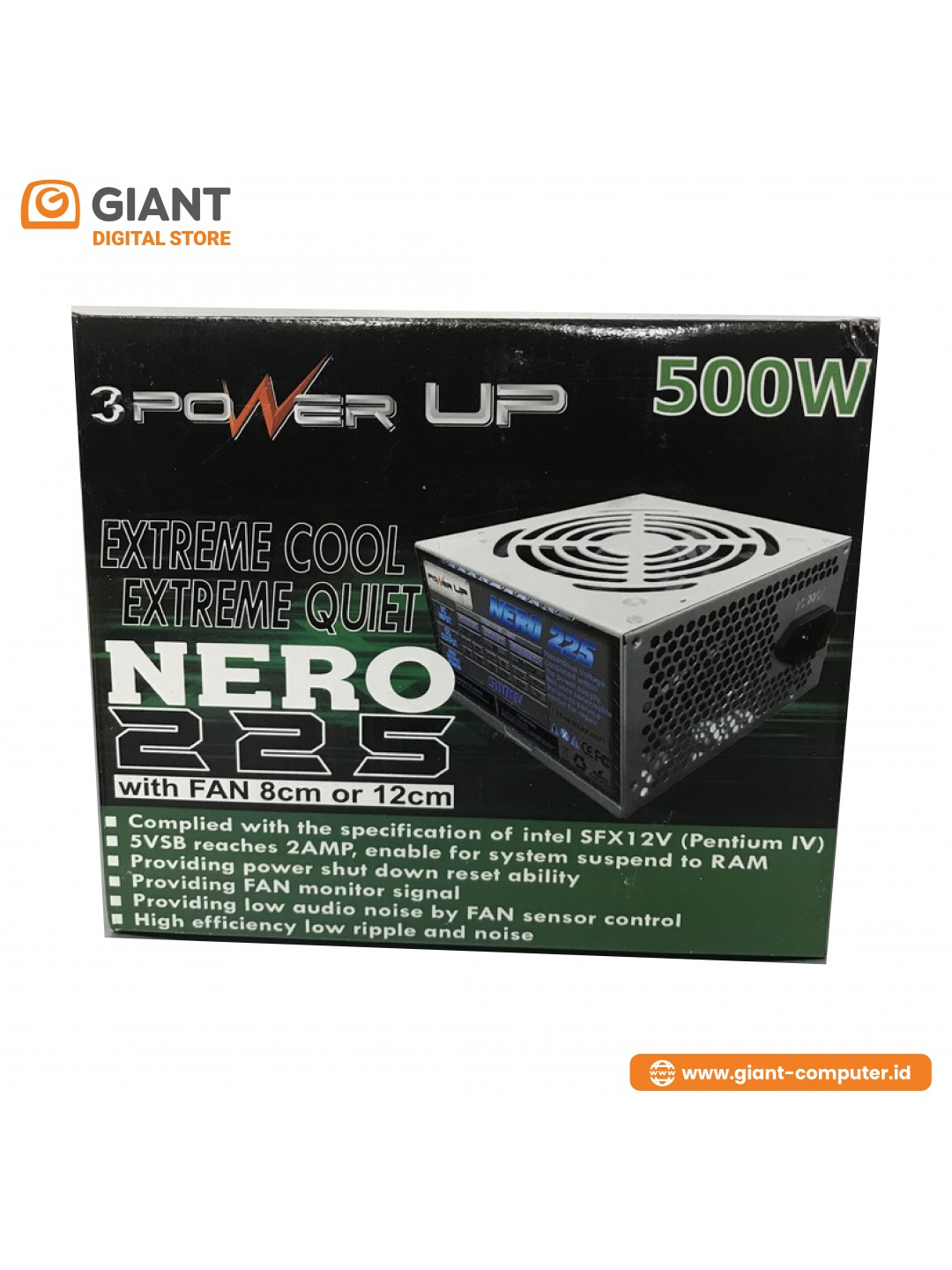PSU POWER UP 500W