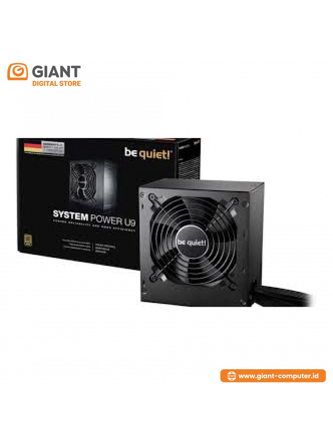 PSU BE QUITE SYSTEM POWER U9 500W - 80+ BRONZE