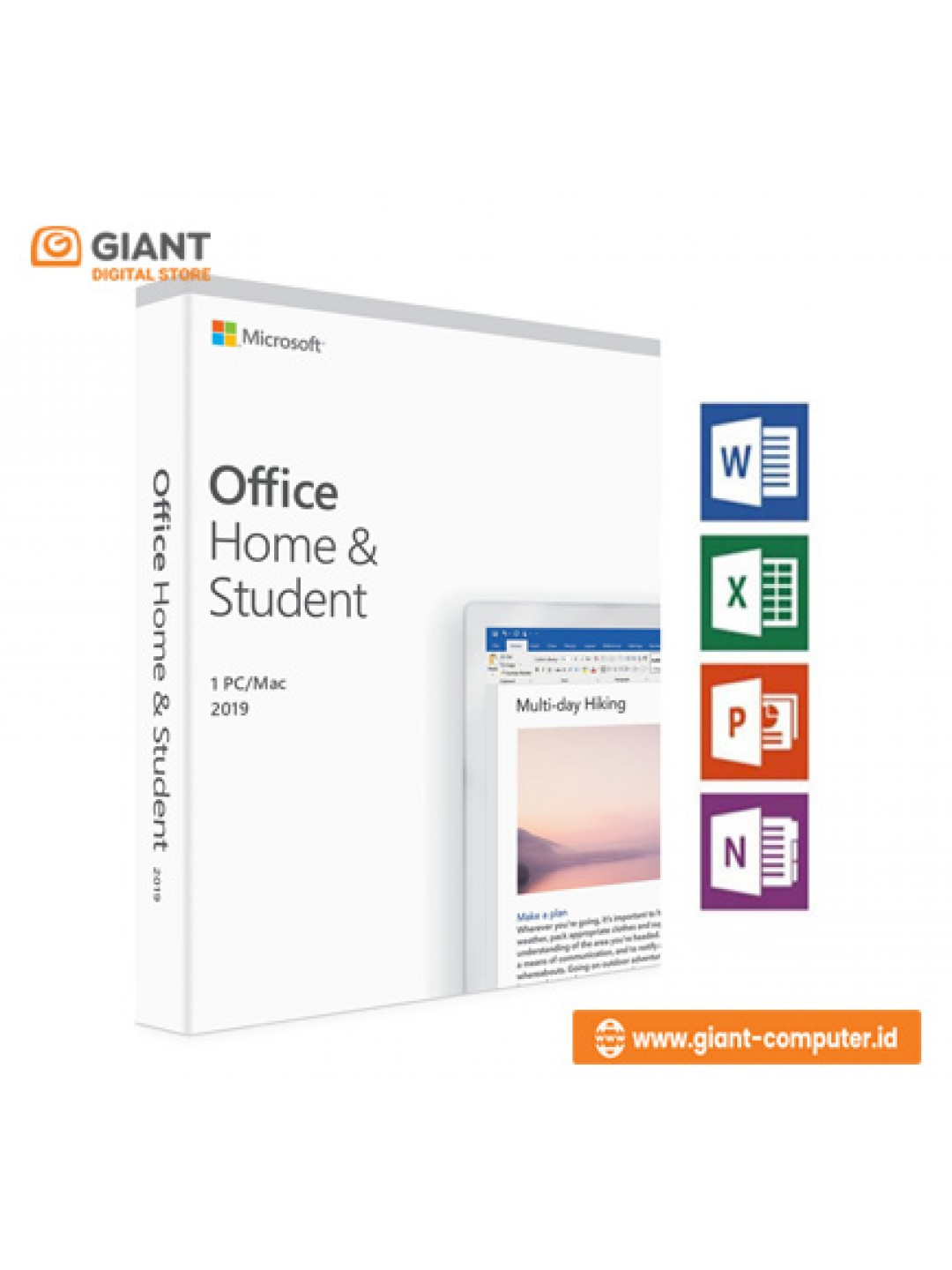 OFFICE HOME & STUDENT 2019