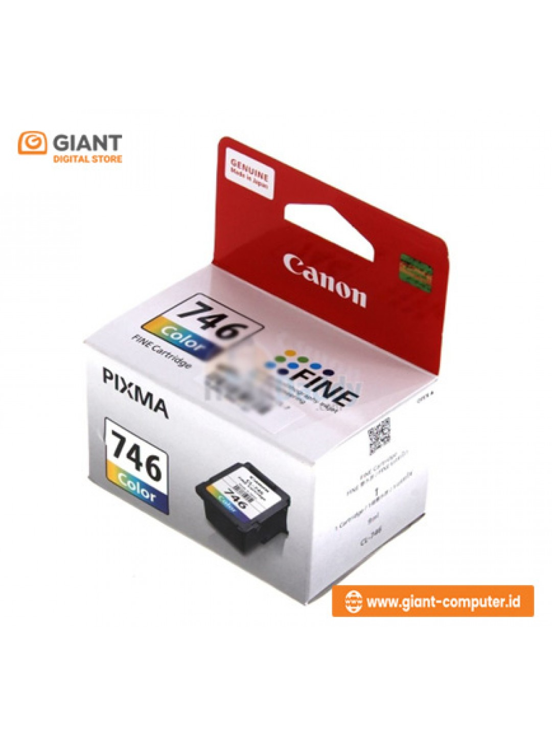TINTA CANON 746 COLOUR