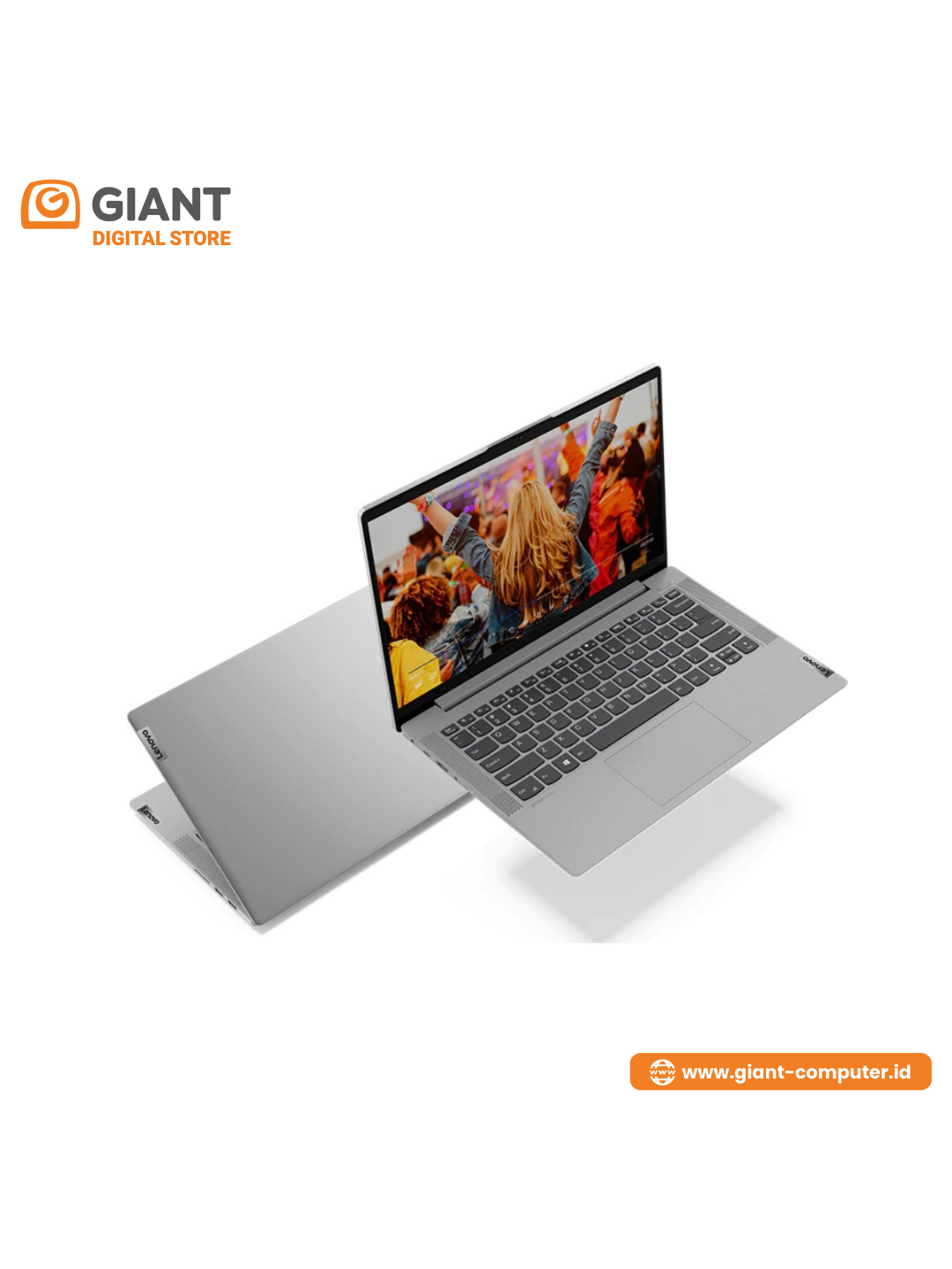 """LAPTOP LENOVO IP5 14ARE05 ( R5-4500 / 8GB / SSD 512GB / VGA INTEGRATED / 14"""" FHD IPS / WIN10+OHS ) GREY"""