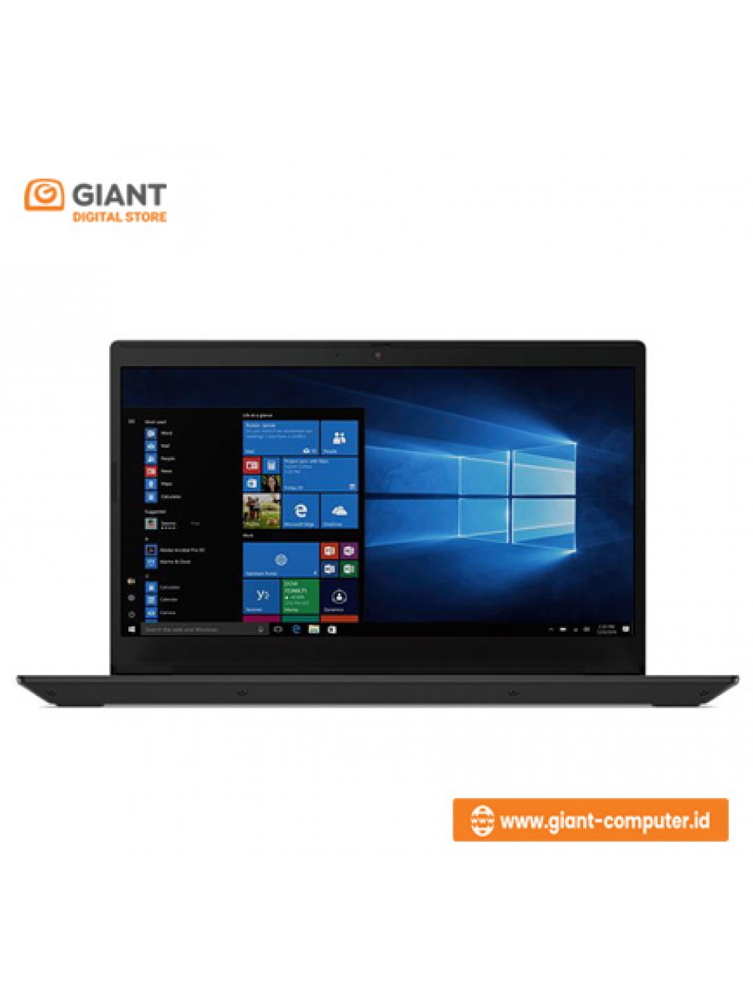 LAPTOP LENOVO IDEAPAD SLIM 3 14ARE05 1YID (R3-4300U / 8GB / SSD 512GB / WIN10 + OHS) BLACK