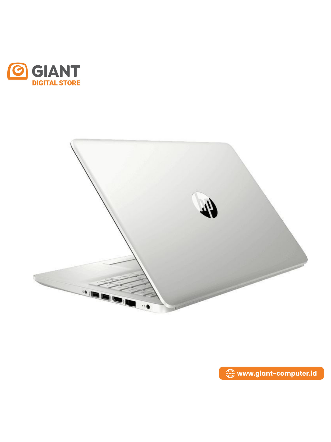 """LAPTOP HP 14S-FQ0011AU ( R5-4500U / 8GB / SSD 512GB / 14"""" FHD IPS / VEGA 8 / WIN10+ OHS ) SILVER"""