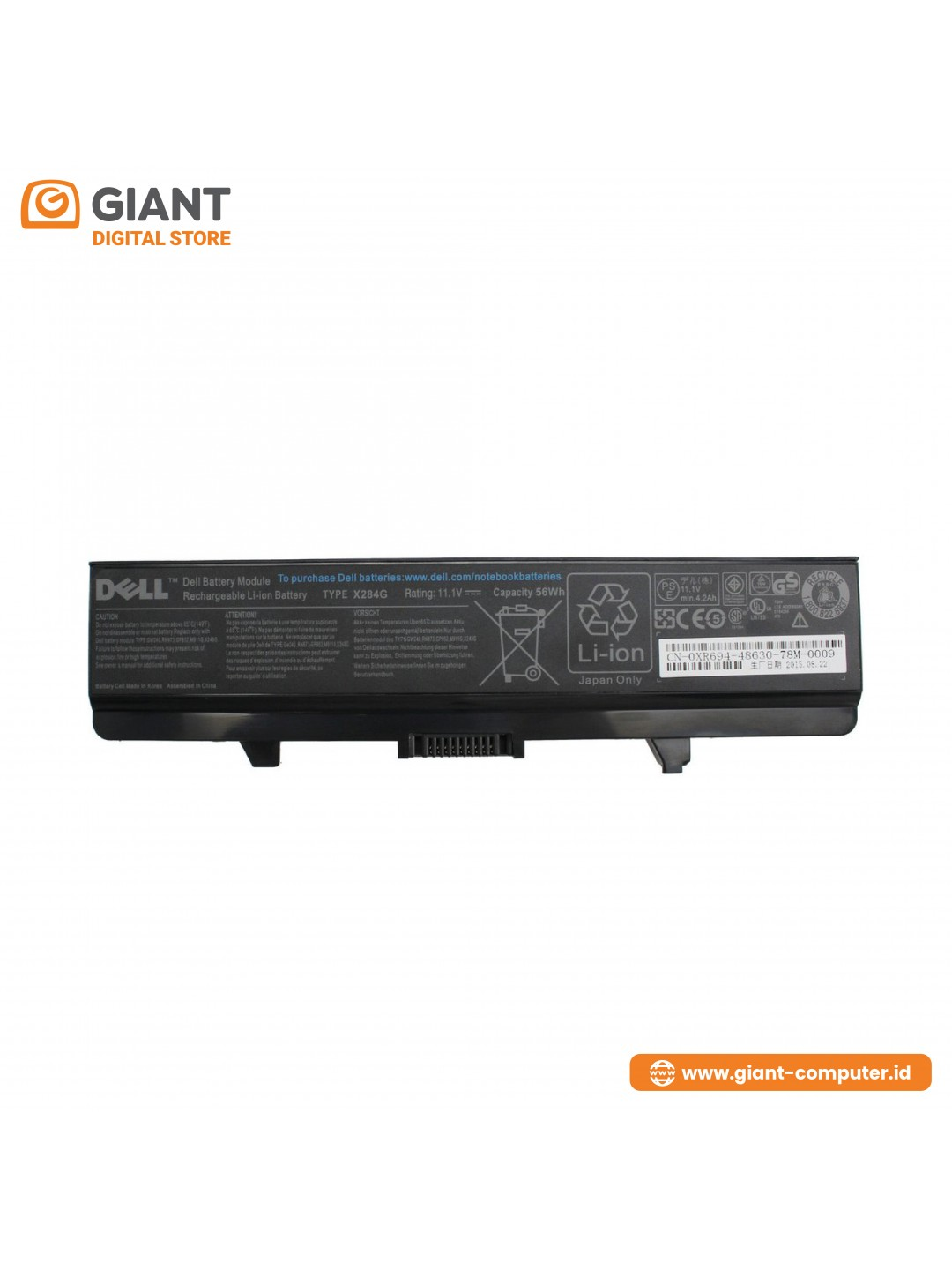 BATTERY DELL K450N / 1525 ORI