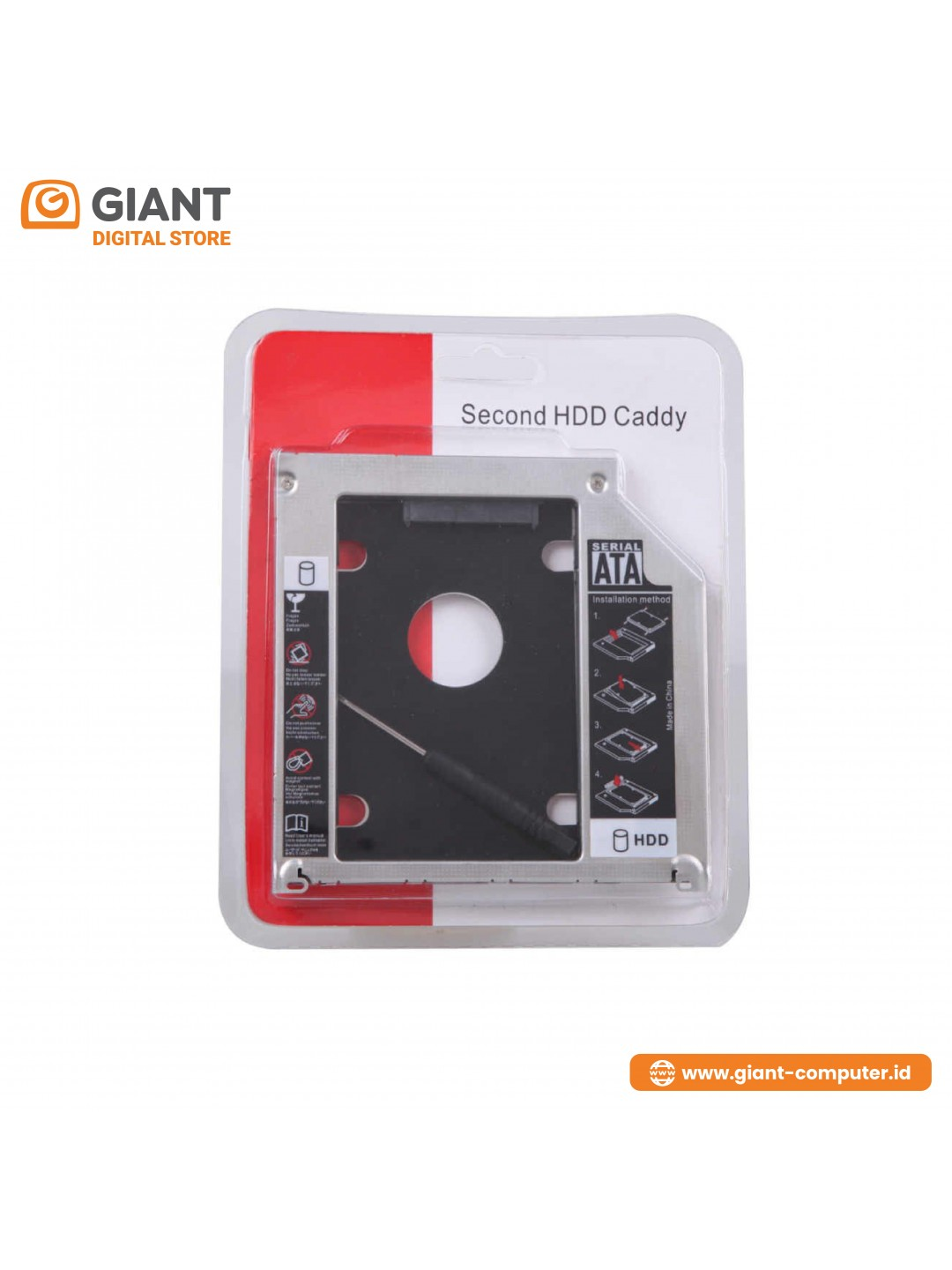CASING HDD CADDY 12.7MM