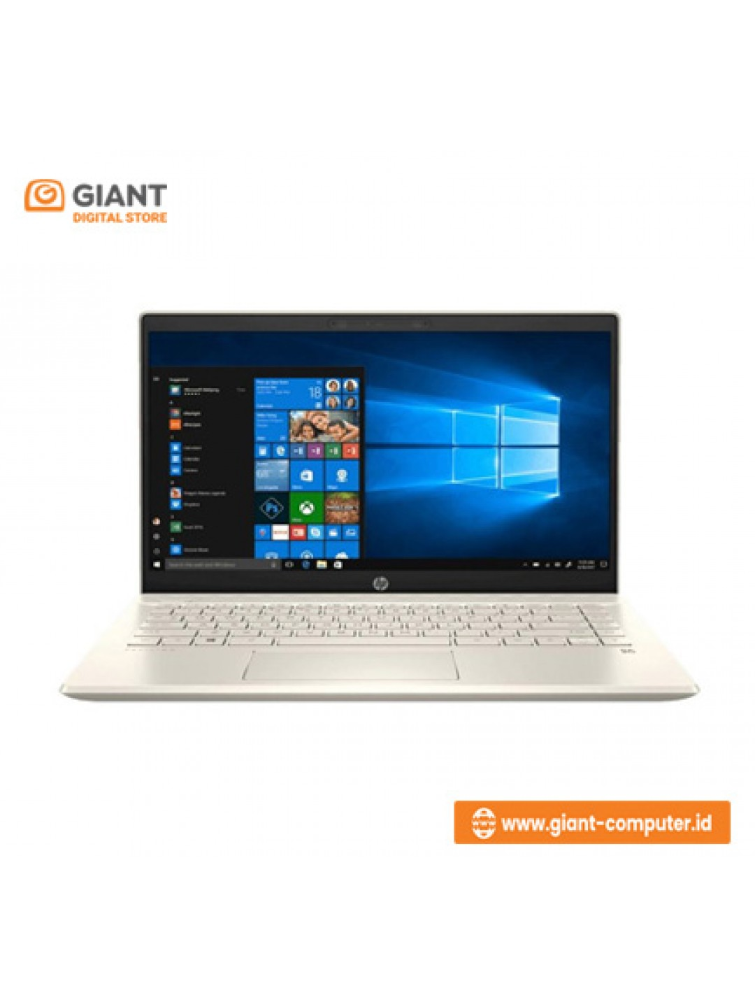 """LAPTOP HP 14S-CF2030TX ( I5-1021O / 4GB / 1TB / AMD RADEON 530 2GB / NO DVD / 14"""" / WIN10+OHS ) GOLD"""